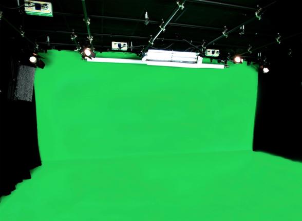 plateau fond vert